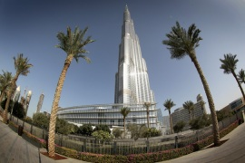 Arabtec helped to construct Dubai's Burj Khalifa - the world's tallest building - and the Louvre Abu Dhabi [File: Chris Jackson/Getty Images]