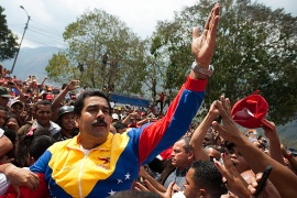'The actual result of the Venezuelan election is much simpler than any prediction, and vastly more certain. Why, then, is it treated by so many as an uncertain result?' Writes Weisbrot [EPA]