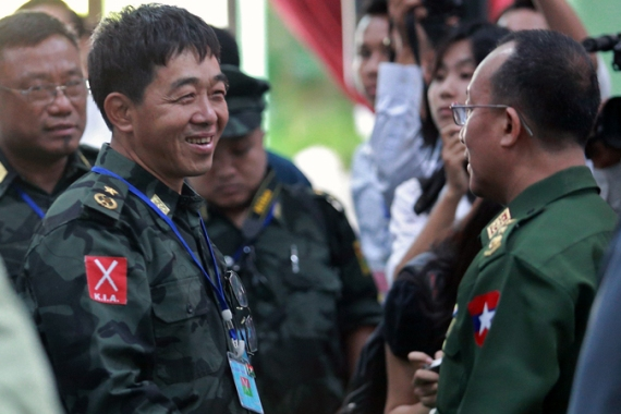 Low-level clashes continued between Myanmar forces and Kachin rebels following tentative peace deals in 2013 [AFP]