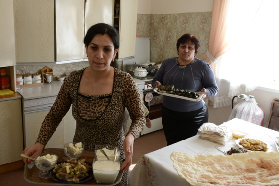 Dishes such as tolma are claimed by both Armenia and Azerbaijan as their own [Felix Gaedtke/Al Jazeera]