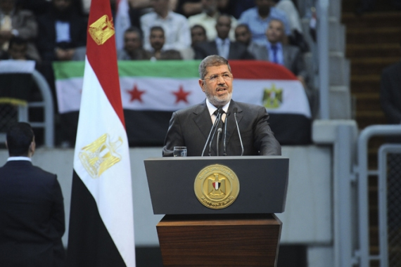 Morsi has maintained that he was freed by local residents [Reuters]
