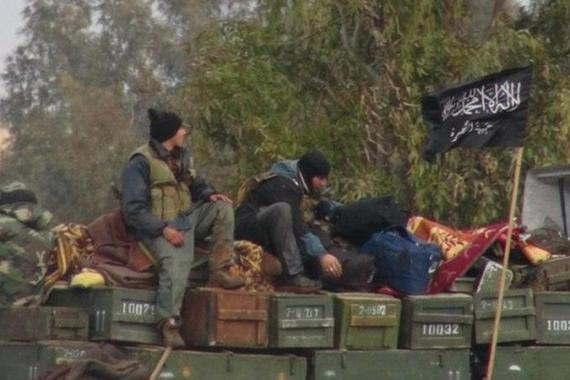 Jabhat al-Nusra is considered to be one of the most effective armed groups in the battle against Assad [AP]