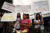 El Salvador has some of the world's strictest laws against abortion [Reuters]
