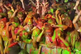 New Zealand paint party breaks world record