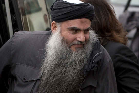 "Abu Qatada pleaded not guilty to the charge of ""conspiracy to carry out terrorist acts"" [Reuters]"