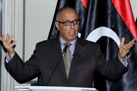 Prime Minister Ali Zeidan has been in the job for nearly one year [AFP]