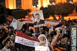 Egypt protests continue as diplomats fly in