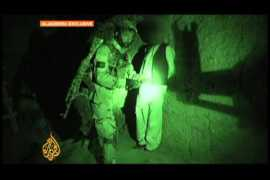 A midnight stroll with Afghan commandos