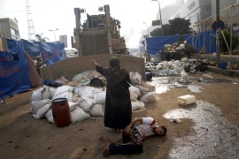 Restraint urged amid Egypt violence