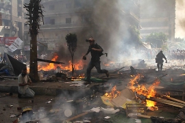 More than 200 people were killed after security forces evicted two protest camps in Cairo [AFP]