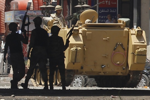 Egypt has cracked down on protesters supporting ousted President Morsi, leaving hundreds dead [Reuters]