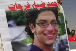 Egypt family mourns teen protester's death