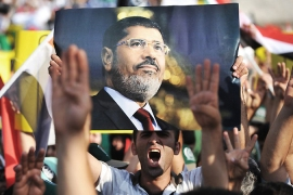 Egypt's Morsi calls his removal treason