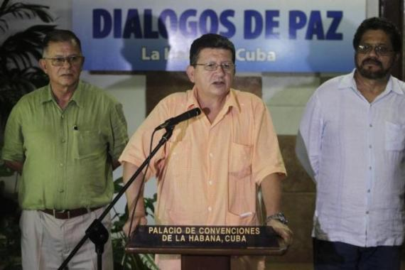 FARC's announcement was the first interruption of talks that began in November [Reuters]