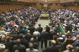 The British parliament narrowly voted against military intervention on August 29 [AFP]