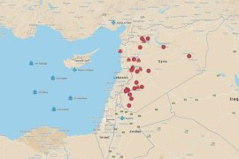 Map: Syria attack targets