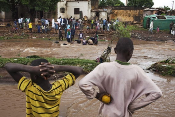 Floods often lead to massive displacements and deaths in West Africa's June to October rainy season [Reuters]