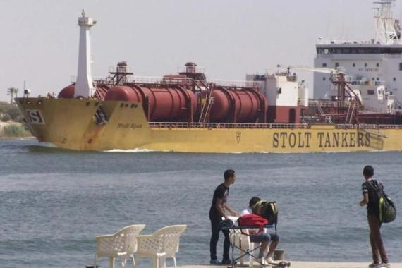 The Suez Canal is a vital source of revenue for the Egyptian economy [File: Reuters]
