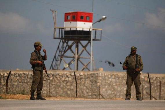 Egypt closes the Rafah border crossing with the Gaza Strip 'indefinitely' for security reasons [AP]