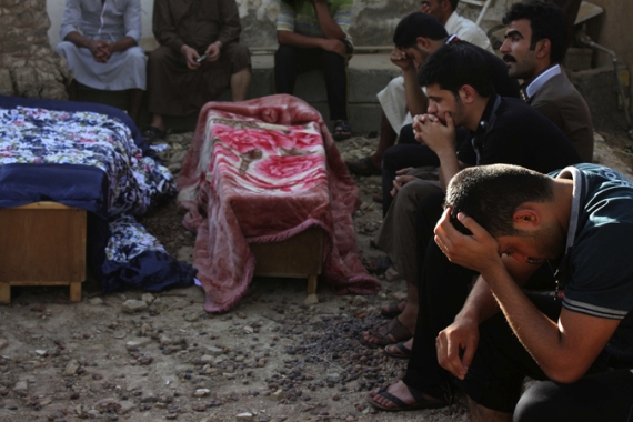 The US State Department says at least 6,000 Iraqis have been killed in attacks so far this year [Reuters]