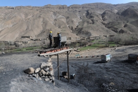 Afghans working the mines often have wages of around six dollars a day [Jawad Jalali/Afghan Eyes/Al Jazeera]