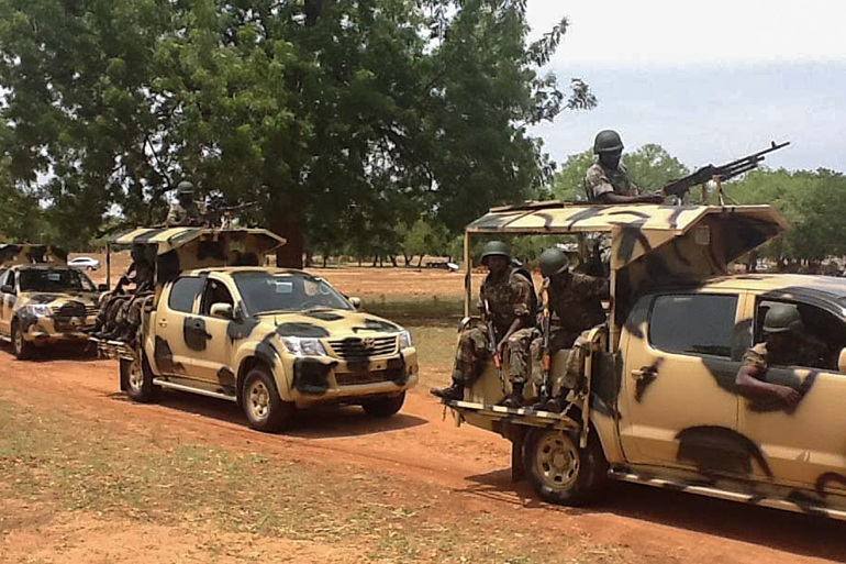 Nigerian army claims to have attacked a Boko Haram camp in response to an earlier ambush [File: EPA]