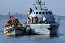 Boatloads of refugees believed to be from Syria have been arriving on the Sicilian coast [EPA]