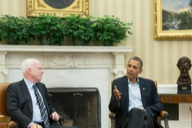 Obama shores up support for Syria strike