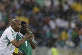 Stephen Keshi's Nigeria are favourites and need only a draw to qualify for African playoff qualifiers [AP]