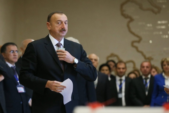 """Failing to hold Azerbaijan accountable for behaving democratically, in accordance with its international obligations, bodies like the European Parliament are legitimising an undemocratic regime"", writes Rebecca Vincent [EPA]"
