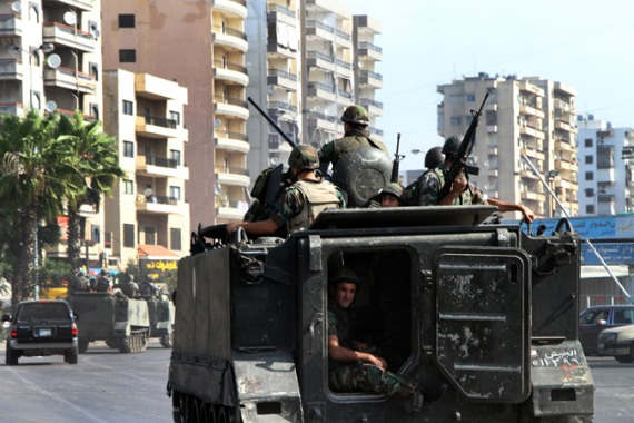 Violence has escalated in Tripoli since the beginning of Syria's uprising [EPA]