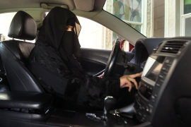 Saudi women broke the ban on driving and took the streets on October 26 [Reuters]