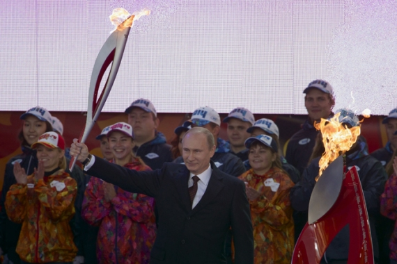 Vladimir Putin tightened country's security to prevent attacks sabotaging Sochi Winter Olympics in February [AP]