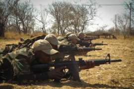 South Africa's war on poaching