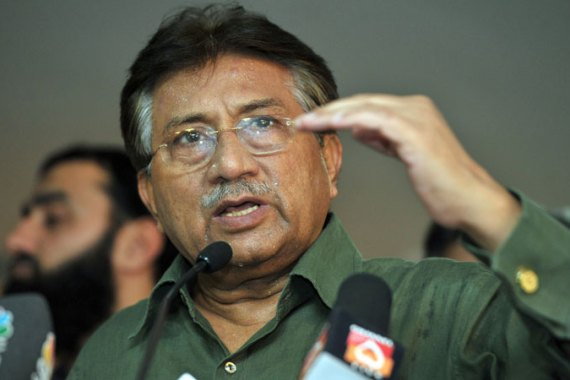 A complaint against Musharraf in the Red Mosque case was registered two weeks ago [Reuters]