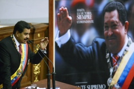 Nicholas Maduro won his first presidential election in April, following the death of Hugo Chavez [AFP]