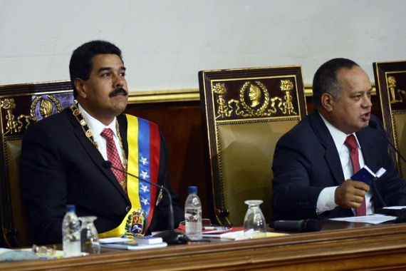 Maduro says he needs powers to fight economic 'sabotage', but critics say he will use them against opposition [AFP]