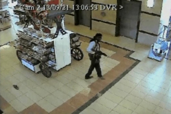 Four men are believed to have carried out the Westgate mall attack [Reuters]