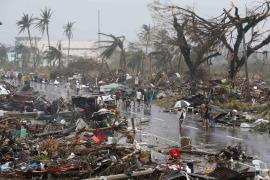 Haiyan moved towards Vietnam after battering the Philippines on Friday.
