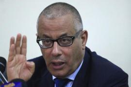 Libya's Prime Minister Ali Zaidan was briefly detained by a militia group [Reuters]