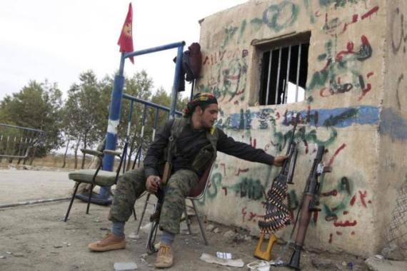 Kurdish fighters have captured more territory from self-described jihadists in northeast Syria [Reuters]