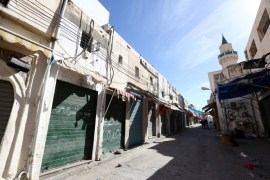 Authorities in Tripoli announced the general strike in response to the violent clashes. [AFP]