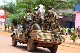 Former Seleka rebel fighters have attacked villages, while vigilante groups commit similar abuses [AP]
