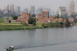 Under colonial-era treaties, Egypt is entitled to the lion's share of the Nile's total flow [AP]