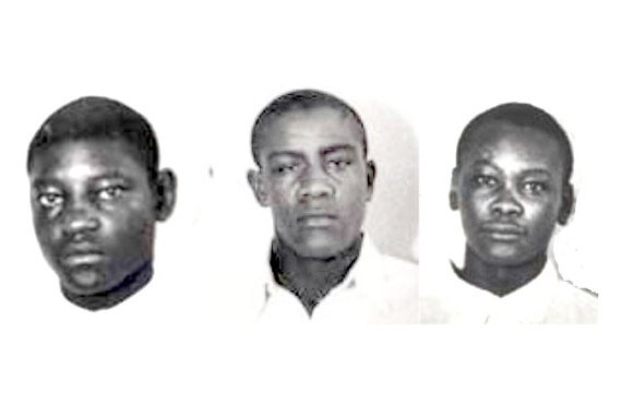 Haywood Patterson, Charles Weems and Andy Wright [L-R] were convicted in 1931 [Composite/CC]