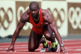 Ben Johnson lost his sprint title to Carl Lewis after he was disqualified at the Seoul Olympics [Getty Images]
