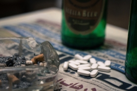 Sixty percent of Cairo's rehab patients are admitted for tramadol addiction [Alessandro Accorsi/Al Jazeera]