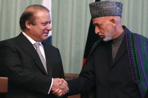 Afghanistan wants Pakistan's help in getting the Taliban to the negotiating table [Reuters]