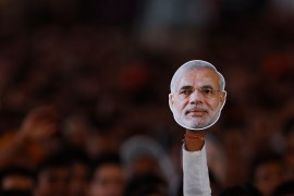 Hindu nationalist Narendra Modi, is one of the most controversial names in contemporary Indian politics [Reuters]