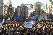 Ukrainians are protesting their government's decision not to sign an agreement with the EU [Reuters]